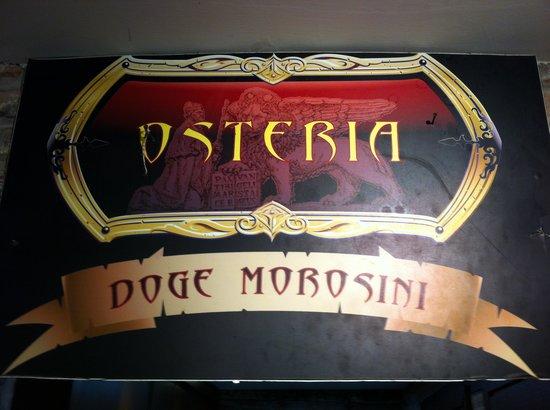 Osteria Doge Morosini : Entrance