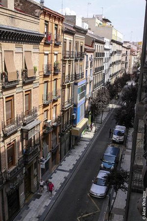 Catalonia El Pilar: Вид из окна.