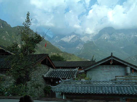 Naxi Family Guesthouse : View from the room, sensational