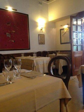 Taverna Giulia : intérieur
