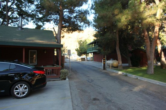 Kernville Inn: off street parking