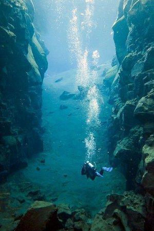 Scuba Iceland: Scuba diving Silfra