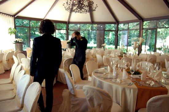 Villa Il Trebbiolo Relais & Restaurant : La sala è pronta!