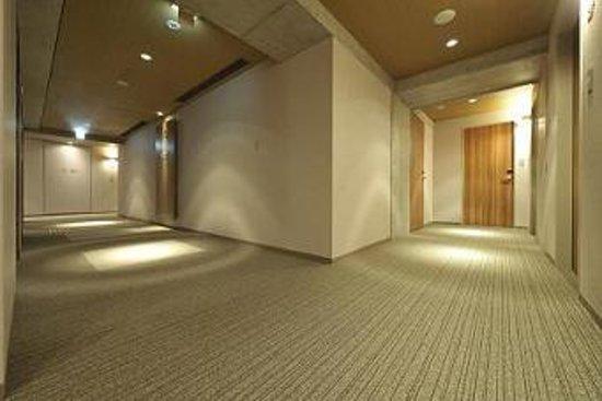 Citadines Karasuma-Gojo Kyoto: 廊下