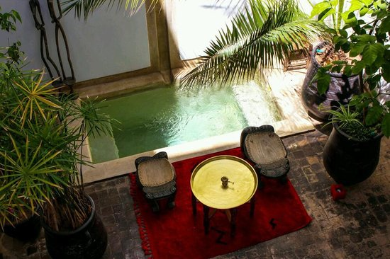 Riad Dar Zaman : Marrakech Riad dipping pool