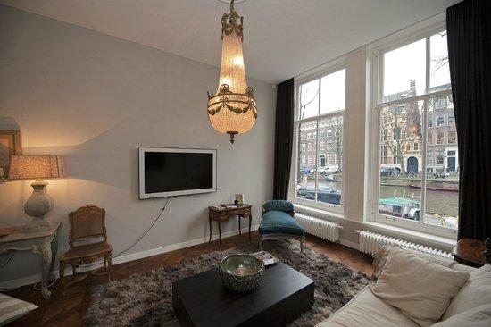 Keizersgracht Residence: Presidential Suite - Living Room