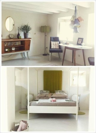 Pianaura Suites-la Torre Tra Le Vigne: Room (smaller of the two)