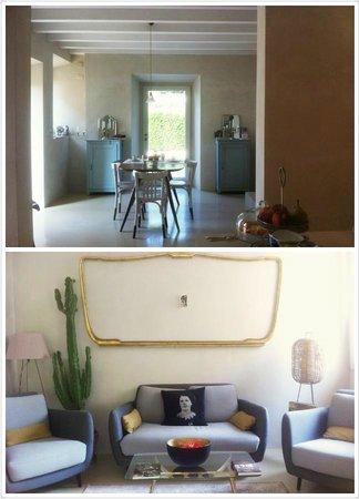 Pianaura Suites-la Torre Tra Le Vigne: Breakfast area