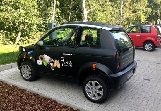 Mietwagenangebot  (Elektrofahrzeuge) - 7THINGS - my basic hotel