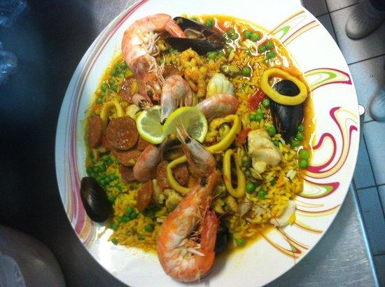 Spey River Bar Brasserie: Paella maison ( plat du jour : 9,90€)