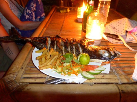 Gili Meno, Indonesië: Dinner