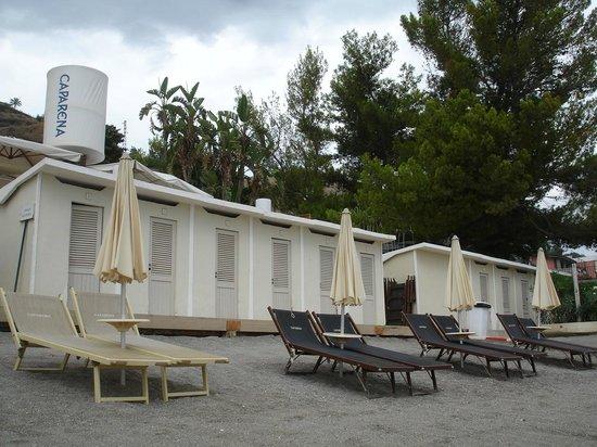 Caparena Hotel : Пляж.