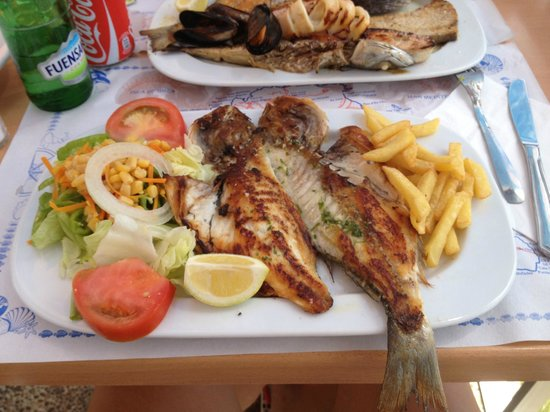 Jardin del Mar : grilled fish