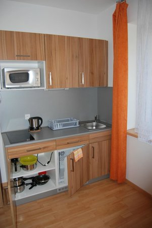 Vsetin, Czech Republic: Мини-кухня