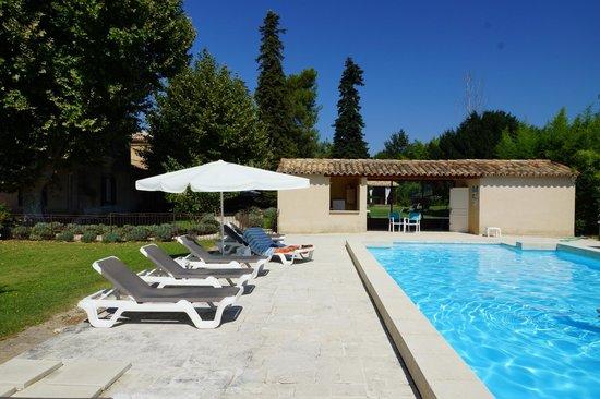 La Bastide de Voulonne : tres tres belle piscine