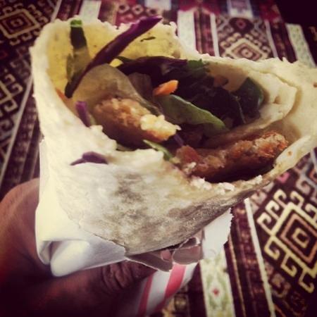 Mustafa : falafel