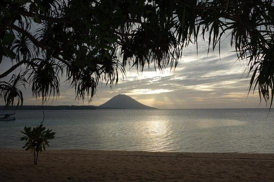Siladen Resort & Spa: Vue de notre bungalow plage