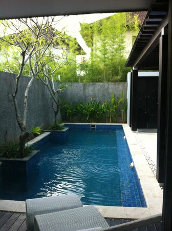 The Jineng Villas: pool area