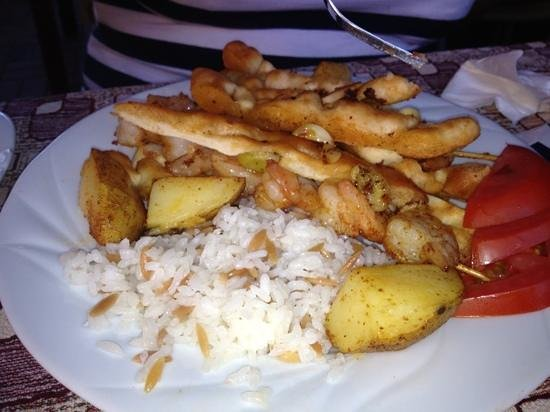 Kasim Restaurant: Garnelenspiesse