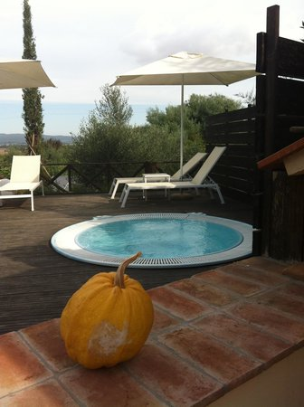 Bed and Breakfast Botrona: vasca idromassaggio