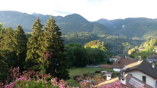 Park Hotel Azalea: Ausblick vom balkon
