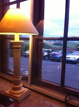 The Cook & Barker Inn: lovely views