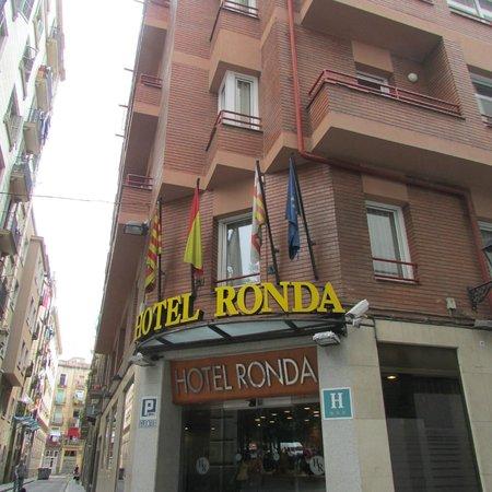 Ronda House Hotel: fachada