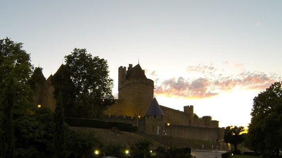 Hotel du Chateau : Photos prises depuis notre chambre
