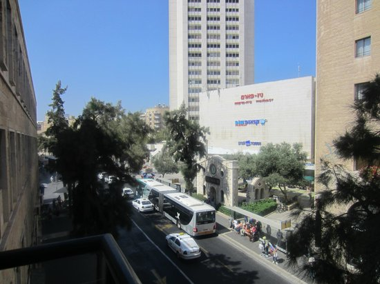 City Center Jerusalem: View from the room