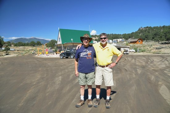 KOA Campground : Mr. M and myself