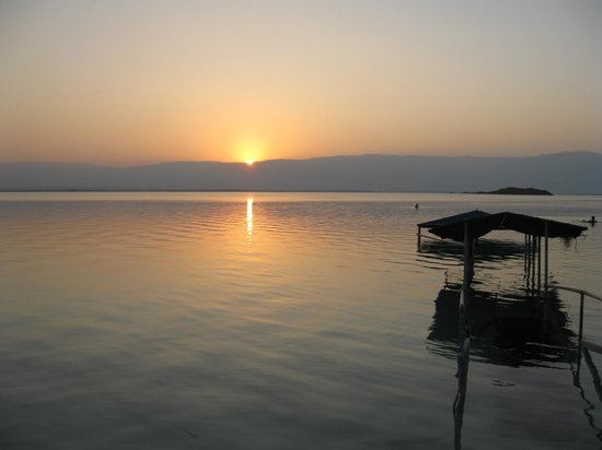 Isrotel Dead Sea Hotel & Spa: Рассвет.