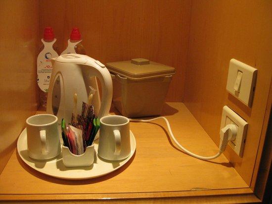 Isrotel Dead Sea Hotel & Spa: Чайный уголок.