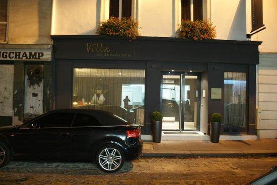 Villa des Ambassadeurs: Vista del hotel