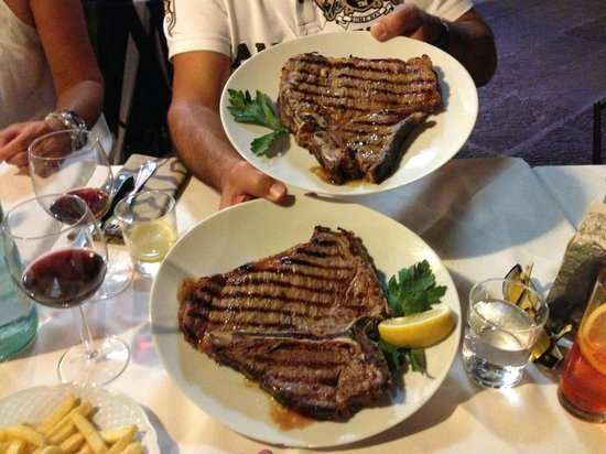 Restaurant La Stella: Fiorentina Gr. 1000