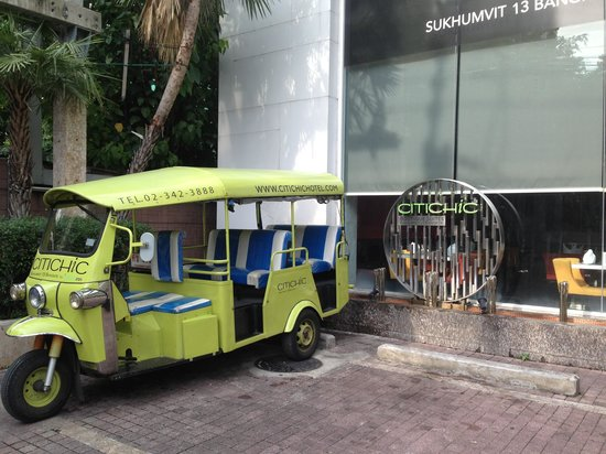 Citichic by iCheck Inn: Citichic tuk tuk