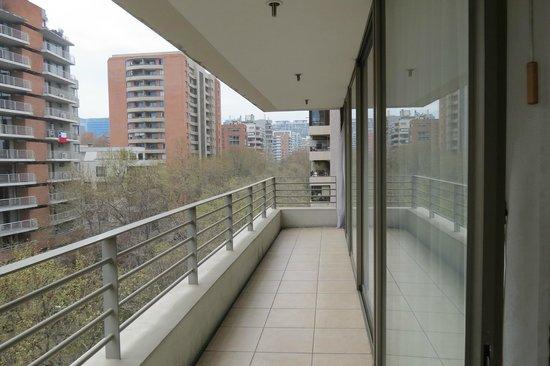 Versalles Suites: balcon