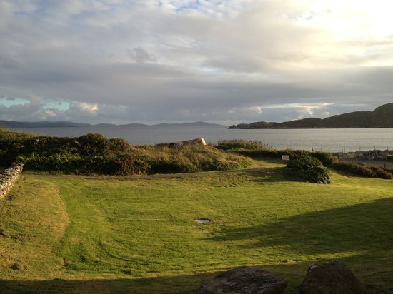 Derrynane Hotel: The View from our room