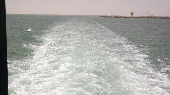 Masirah Island Resort: sea