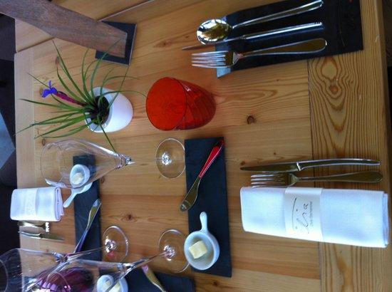 Ristorante Tilia: tavola