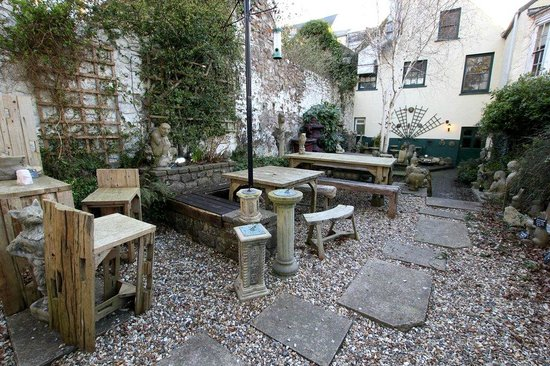The Georges Restaurant & Cafe Bar: Just a tiny part of our beautiful garden
