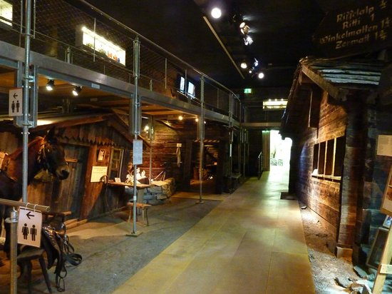 Matterhorn Museum - Zermatlantis: made up 'village' of old Zermatt