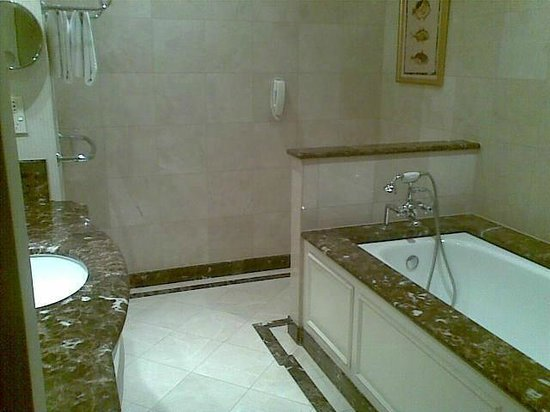 Treasury Hotel & Casino: Grand bathroom