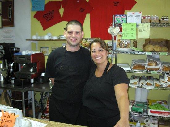 Piccolo Italian Market & Deli: Fast Friendly Service