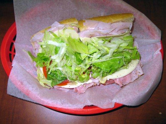 Piccolo Italian Market & Deli: 'Small' Ham & Cheese Sub