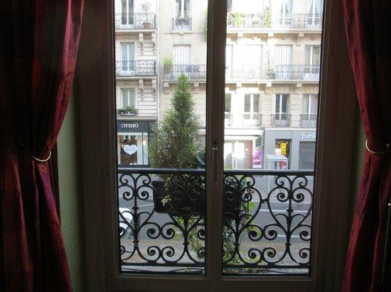 Hotel Royal Saint Germain : Vista desde el desayunador