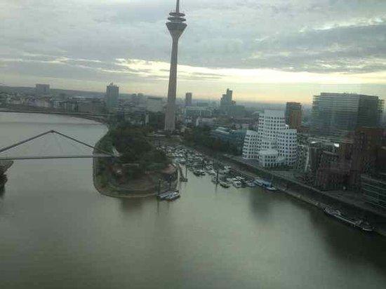 Hyatt Regency Düsseldorf: View from the suite