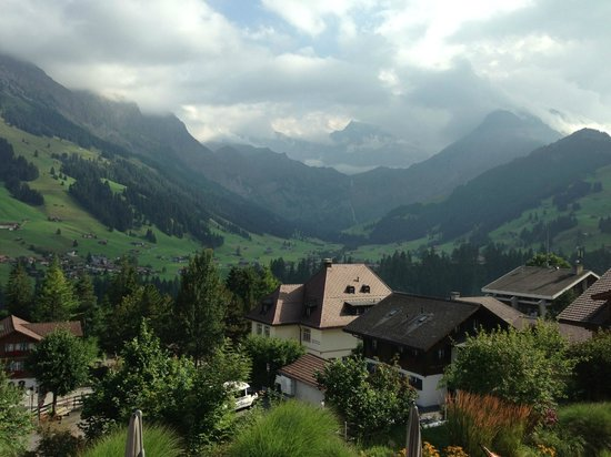 The Cambrian : Alps view from the room balcony