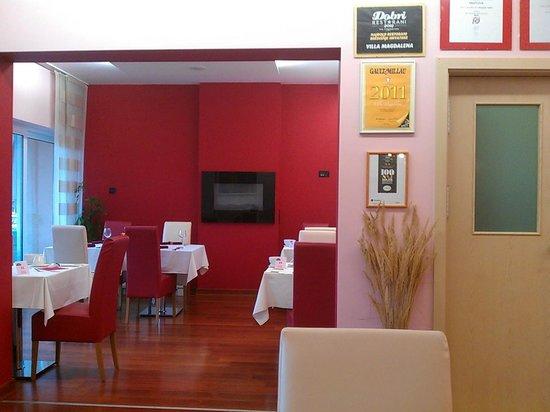 Villa Magdalena: Premios restaurante