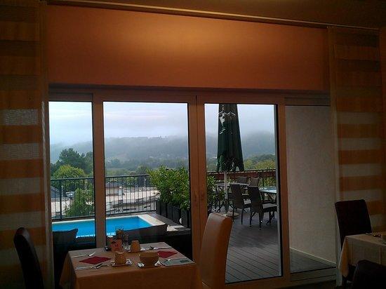 Wellness & Spa Hotel Villa Magdalena: Vistas desde el restaurante