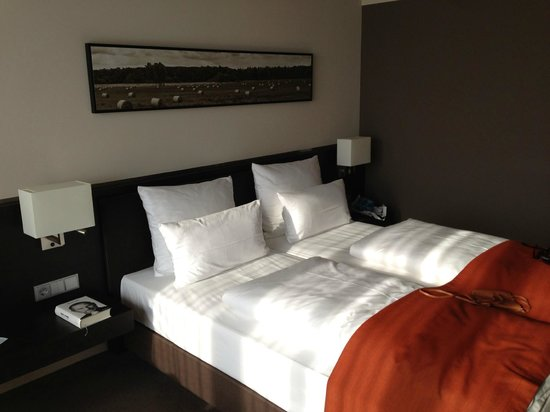 Atlantic Hotel Lubeck : angenehme Betten